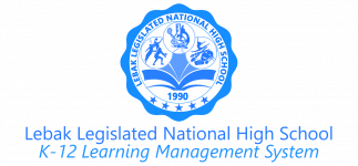 Lebak Legislated National High School - LMS
